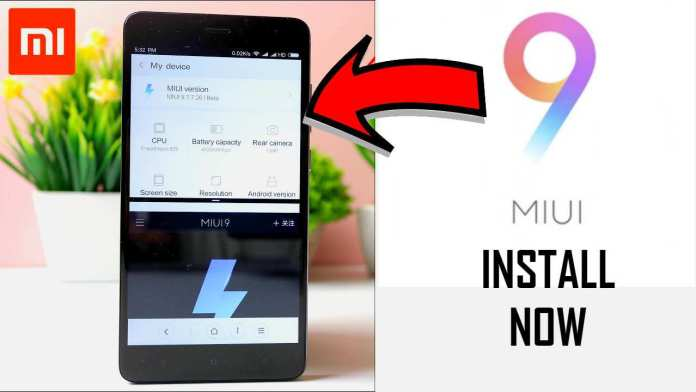 how to install miui 9