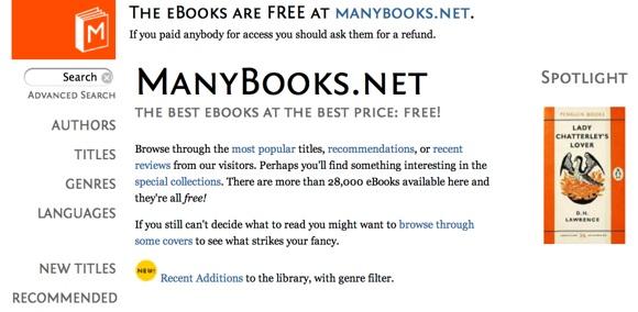 ManyBooks-free-ebook-download
