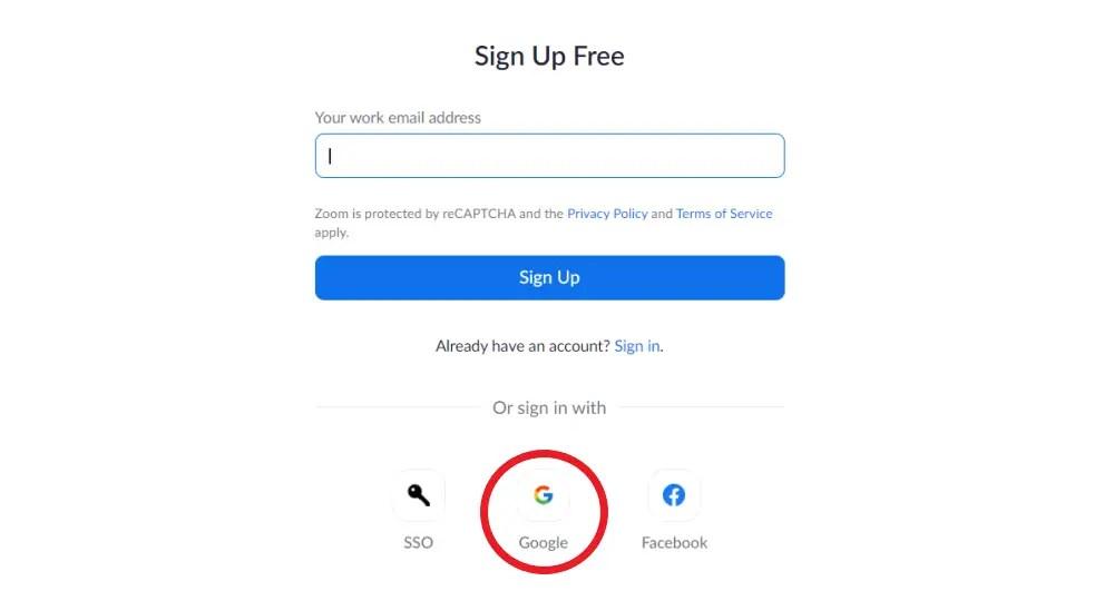 Google Profilbild beim Zoomen anzeigen