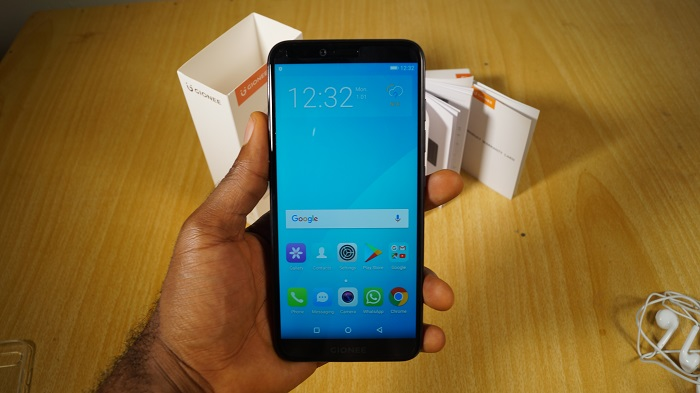 Gionee s11 lite review screen
