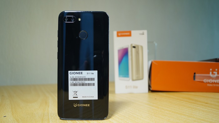 Gionee s11 lite review design