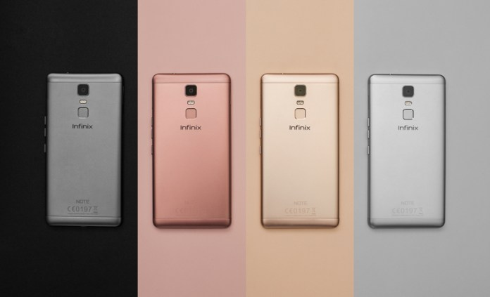 Infinix Note 3 Throwback