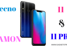 Camon 11 and camon 11 pro