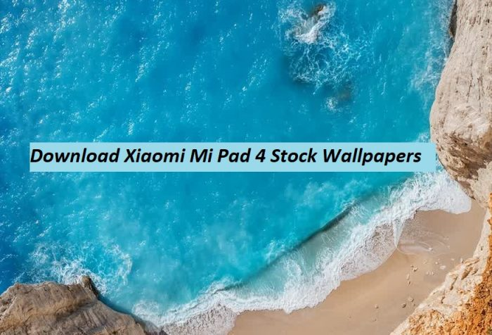 Download Xiaomi Mi Pad 4 Stock Wallpapers Gadgetstwist
