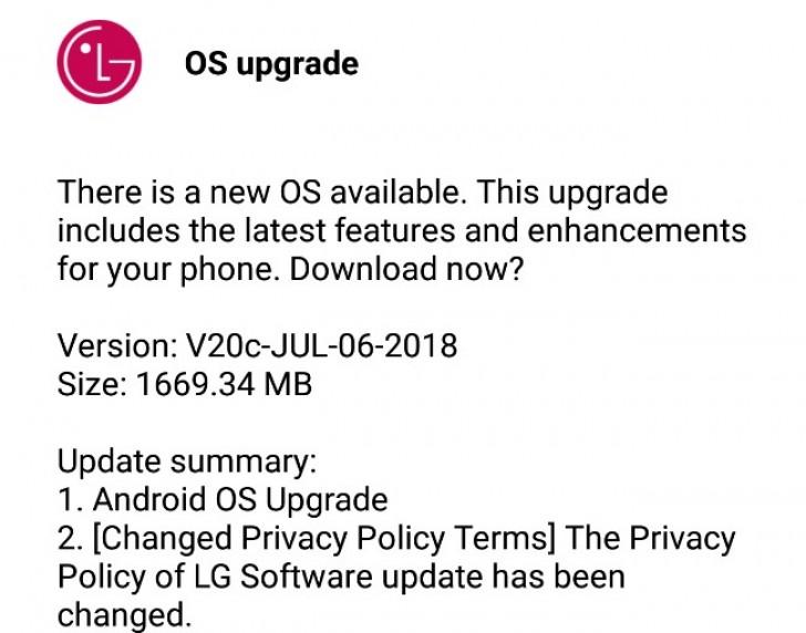 Download Stock Oreo V20c-JUL-06-2018 KDZ for LG V20 | GadgetsTwist