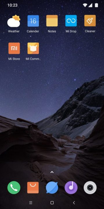 Download Poco F1 Stock themes for all Xiaomi devices