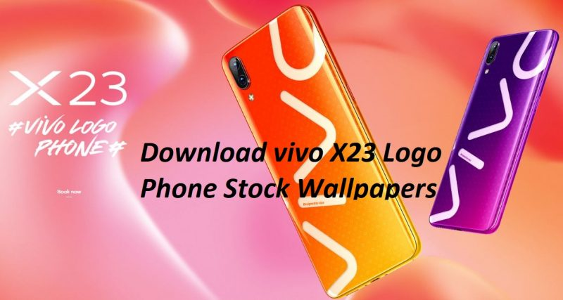 Download Vivo X23 Logo Phone Stock Wallpapers in full HD+