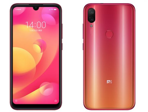 Download Xiaomi Mi Play Stock Wallpapers [FHD+ 1080 x 2280 resolution]