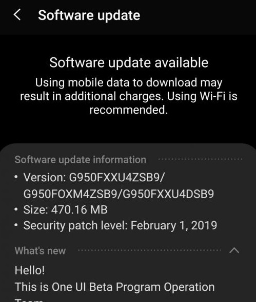 XXU4ZSAB: Download Android Pie fourth beta for Galaxy S8/S8 Plus