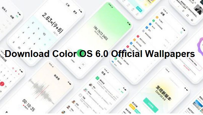 download Color OS 6 official wallpapers