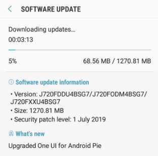 Download Android Pie G955USQU5DRL6 beta for Galaxy S8 Plus [Tutorial