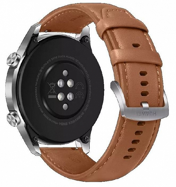 Silicone, leather and metal. All straps of smart watches Huawei Watch GT 2 Pro