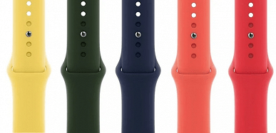 Apple introduced a whole scattering of new straps and cases