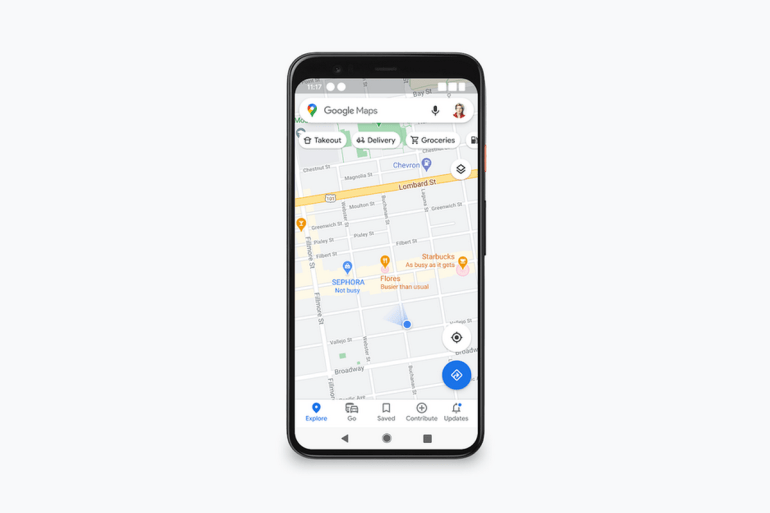 Google Maps will soon show congestion in places, including outdoor venues, in real time