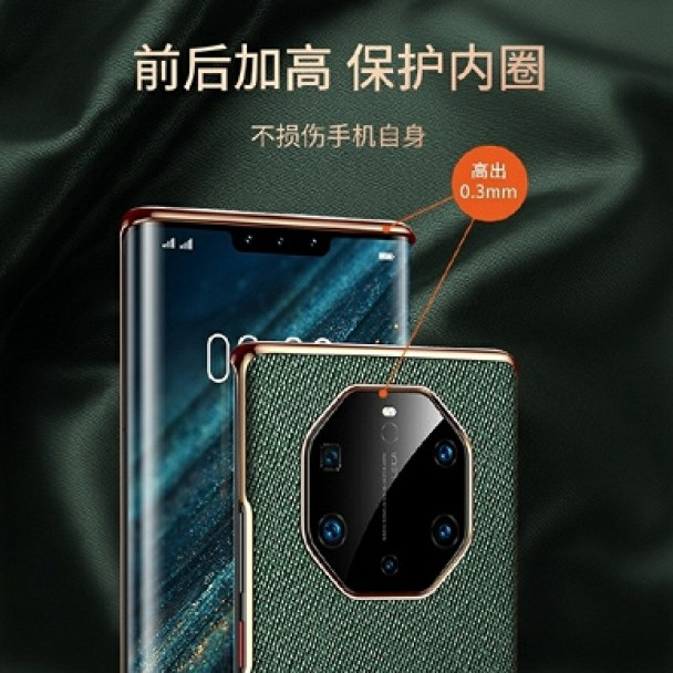 A pentacamera in a huge module and a triple front camera. Huawei Mate 40 and Mate 40 Pro pose for high-quality renders