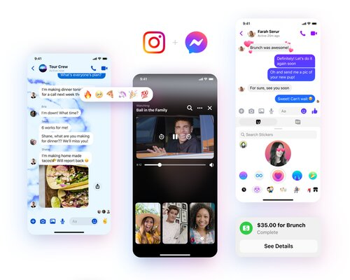 Facebook Messenger gets a new design and additional features