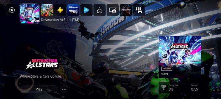 Sony unveils new PS5 interface