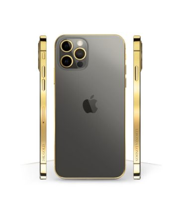 Leronza Introduces iPhone 12 Smartphones With Swarovski Crystals, Diamonds, Exotic Leather And Gold Plating (1)