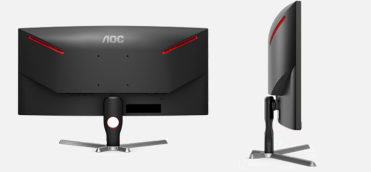 AOC CQ30G3E Ultra Wide Curved Monitor for Work and Play