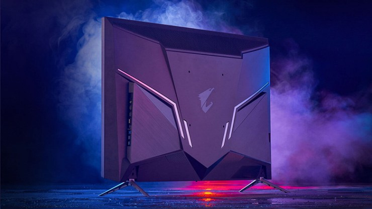Gigabyte Aorus 4K gaming monitors support 120Hz when connected to next-gen consoles