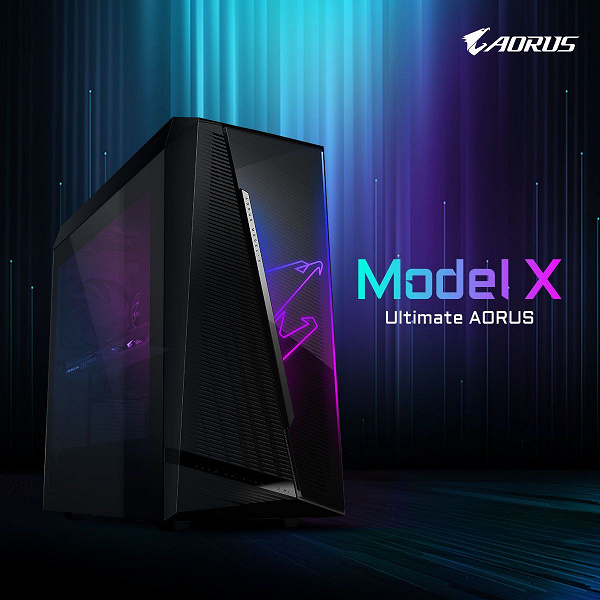When Model S and Model X are not Tesla cars.  Gigabyte unveils new Aorus gaming PCs