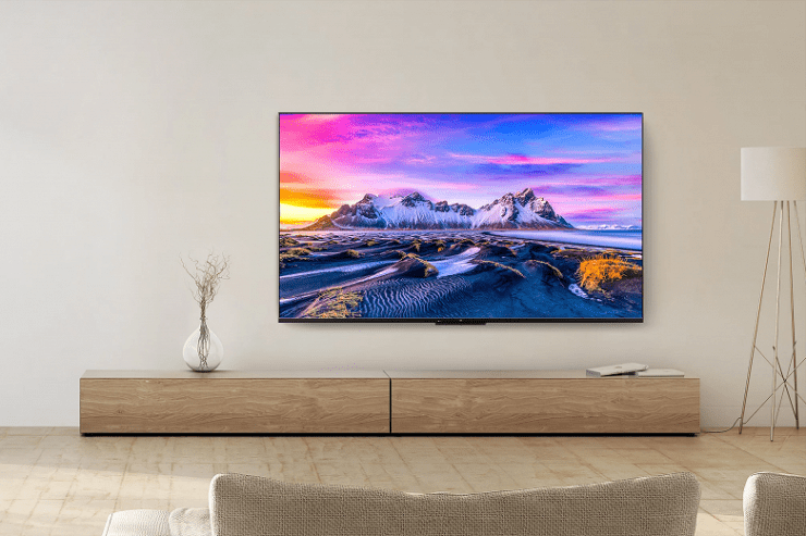 Introduced inexpensive TVs Xiaomi Mi TV P1 with support for HDMI 2.1, Dolby Vision, MEMC and a new remote