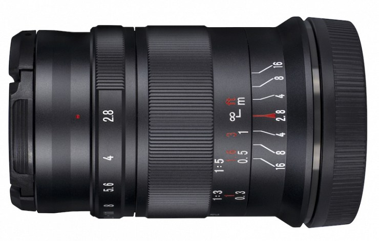 7Artisans 60mm f / 2.8 II lens for APS-C and Micro Four Thirds mirrorless cameras, focus manually