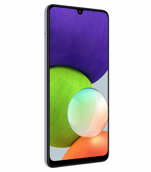 5000 mAh, AMOLED screen, 90 Hz and 48 MP.  Galaxy A22 unveiled - one of the most affordable Samsung smartphones with optical stabilization