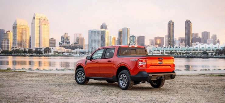 Ford Maverick introduced - the first hybrid pickup under $ 20,000
