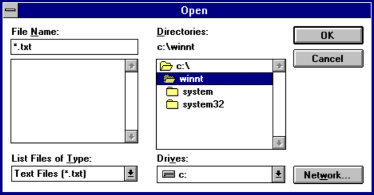 Windows 11 reveals elements of Windows 3.11, released almost 30 years ago
