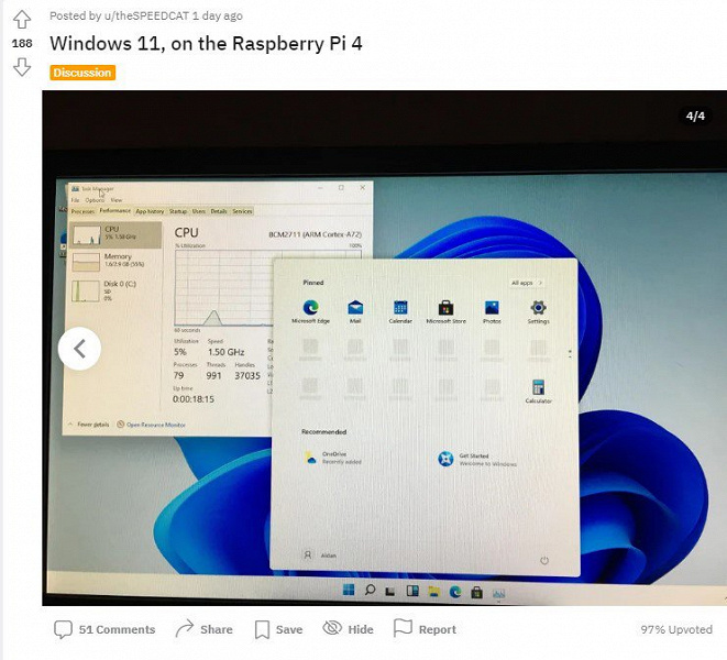 Enthusiast ran Windows 11 on a six-year-old Lumia 950 XL smartphone while another installed Microsoft's latest OS on a Raspberry Pi 4