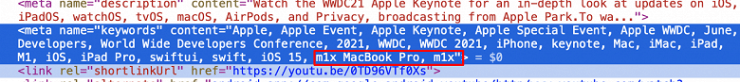 Apple accidentally confirms new M1X-based MacBook Pros