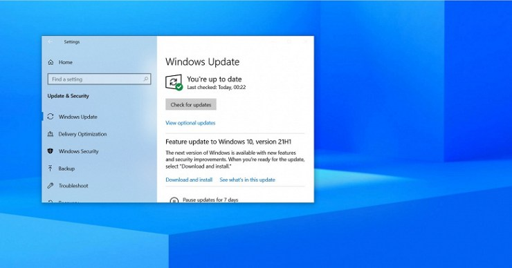 The most recent version of Windows 10 is now widely available