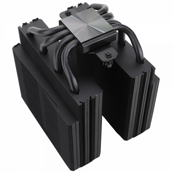 Thermalright Frost Spirit 140 Black V3 cooling system design includes four 8mm heatpipes