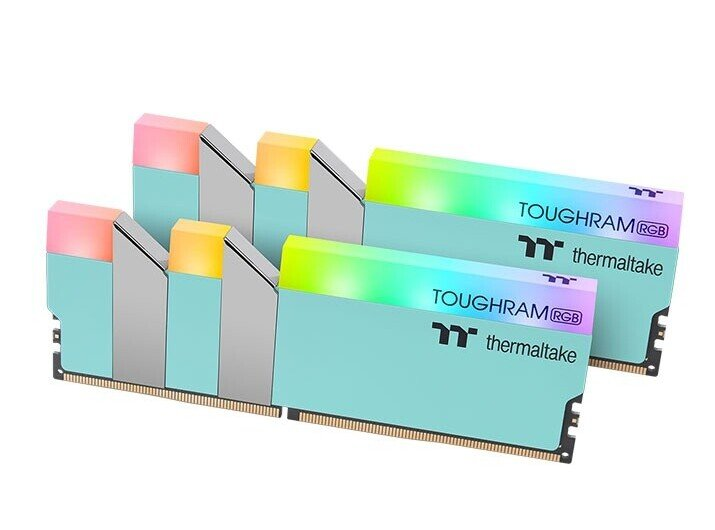 Thermaltake ToughRAM RGB DDR4 memory modules now available in turquoise