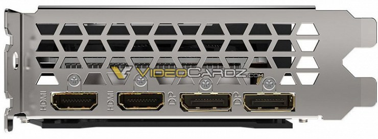 Three fans and a heatsink that is one third larger than the PCB.  Radeon RX 6600 performed by Gigayte showed on renders