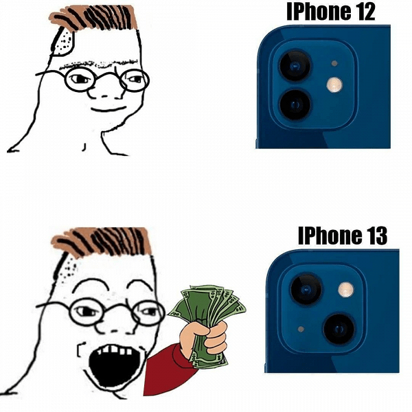 Users scoff at iPhone 13's design, pricing and lack of innovation: a selection of jokes from social networks