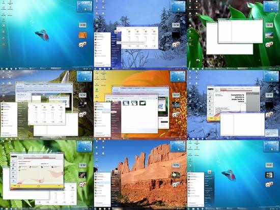 Aero_Seven_Xp_RC2 55 most Beautiful free Window XP Themes and Visual Styles