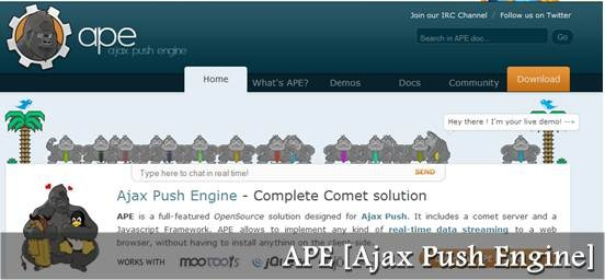Ajax Push Engine