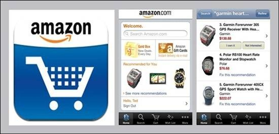 Amazon Mobile 18 free Mobile Shopping Apps for smartphone