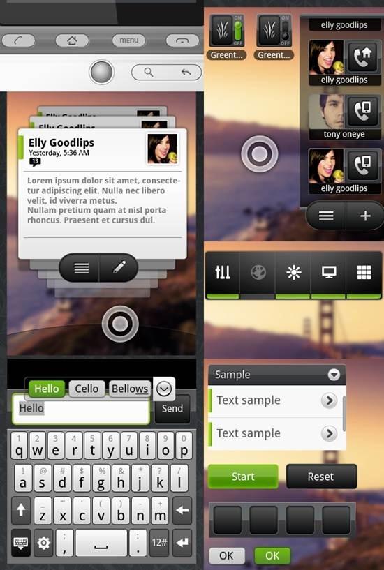 Android 4.0 ICS GUI Design Kits