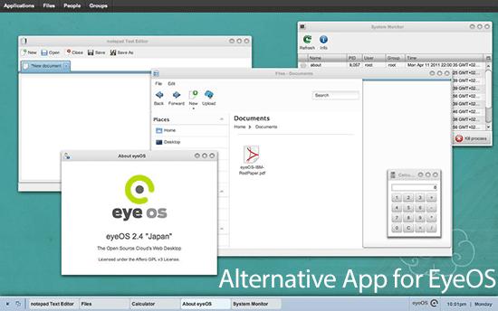 Alternative app for EyeOS