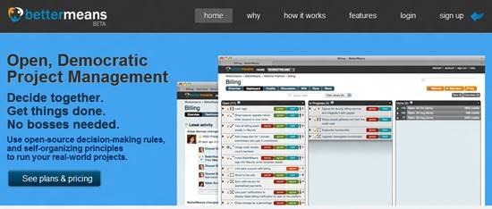 Bettermeans rails project management : Top 15 Ruby on Rails based project management software