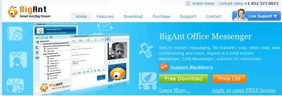 BigAnt Office Messenger