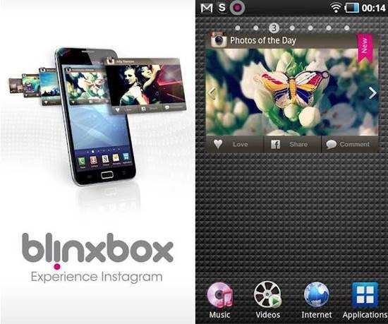 BlinxBox for Instagram android apps
