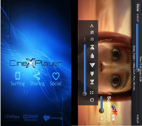 CineXPlayer - Best Mobile video players for iPhone