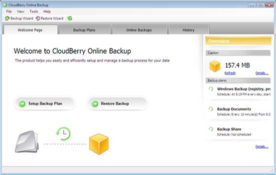 CloudBerry S3 Backup