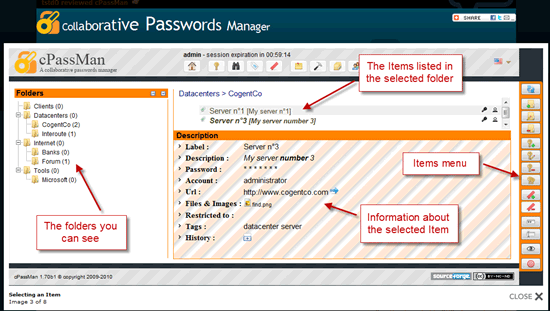 Collaborative-Passwords-Manager
