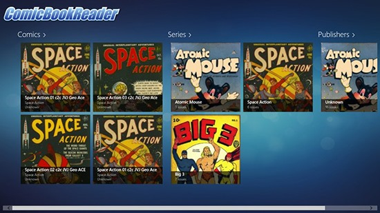 Comic Book Reader - Comic Book Reader for Windows 8