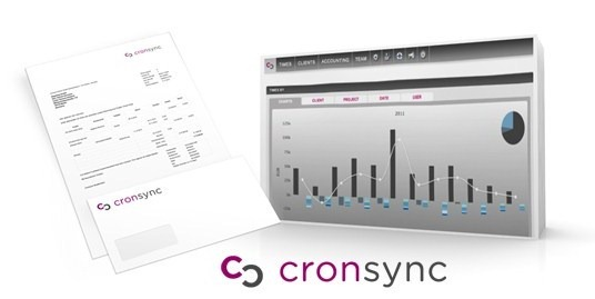 Cronsync time tracking and invoicing software